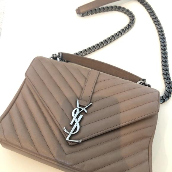 1ab80bb736 Saint Laurent Bags | Medium Monogram College Bag | Poshmark